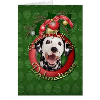 Cartes Noël - plate-forme les halls - Dalmates