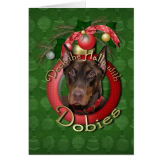 Cartes Noël - plate-forme les halls - Dobies - rocheux