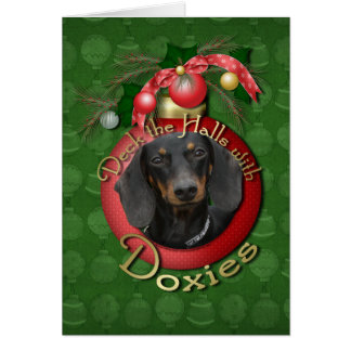 Cartes Noël - plate-forme les halls - Doxies - Winston