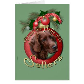 Cartes Noël - plate-forme les halls - poseurs