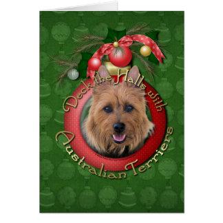 Cartes Noël - plate-forme les halls - terriers