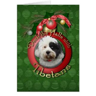 Cartes Noël - plate-forme les halls - Tibétains