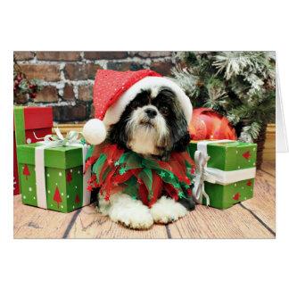 Cartes Noël - Shih Tzu - Riley