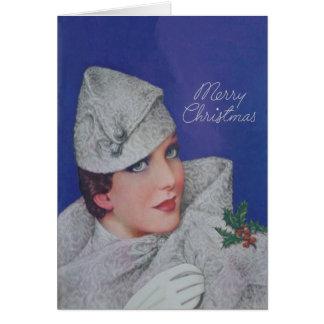 Cartes Noël vintage 1933
