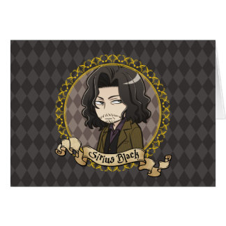 Cartes Noir de Sirius d'Anime