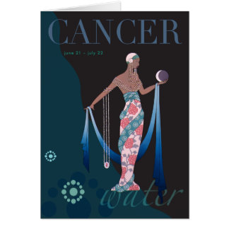 Cartes Note de Cancer