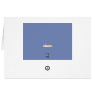 Cartes Note de Merci de cosse d'orque