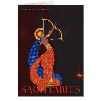 Cartes Note de Sagittaire