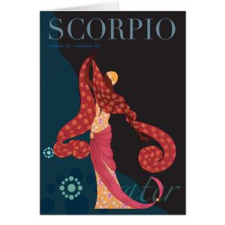 Cartes Note de Scorpion
