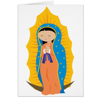 Cartes Notre Madame de Guadalupe