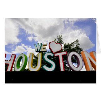 Cartes nous coeur Houston