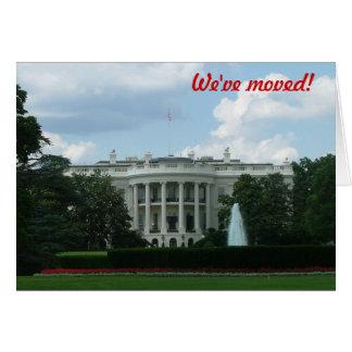 Cartes Nous nous sommes déplacés - au Washington DC