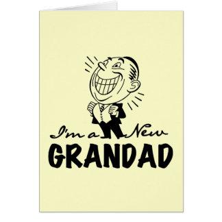 Cartes Nouveaux T-shirts et cadeaux de sourire de papy