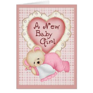 Cartes Nouvel ours de bébé