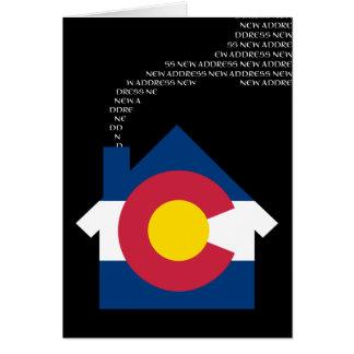 Cartes nouvelle adresse du Colorado