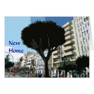 Cartes Nouvelle maison - appartement/plats)