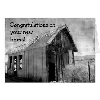 Cartes Nouvelle maison de vieille cabane