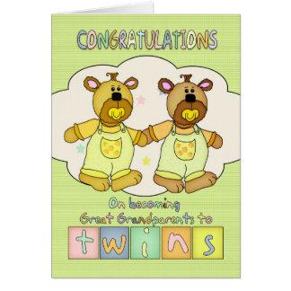 Cartes Nouvelles félicitations de bébé pour