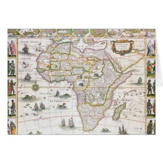 Cartes Nova de l'Afrique, c.1617