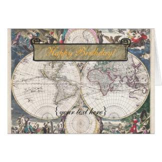 Cartes Nova Totius Terrarum Orbis Tabula - joyeux
