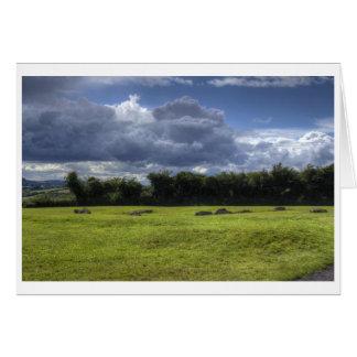 Cartes Nuages de Newgrange