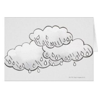 Cartes Nuages de pluie