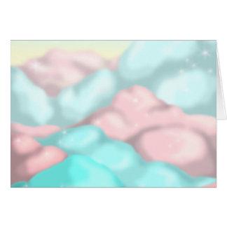 Cartes Nuages de sucrerie