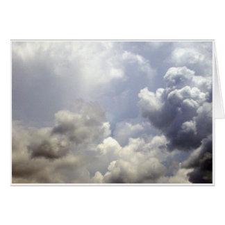 Cartes Nuages de tempête