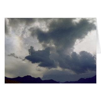 Cartes Nuages de tempête au-dessus des Rocheuses