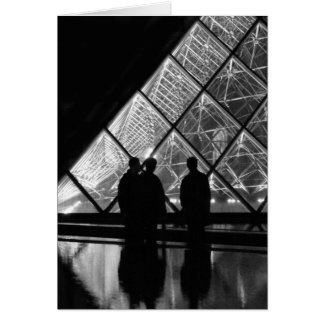 Cartes nuit d'à de pyramide de La