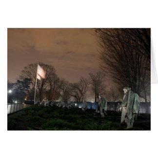 Cartes Nuit de monument de Washington de mémorial de