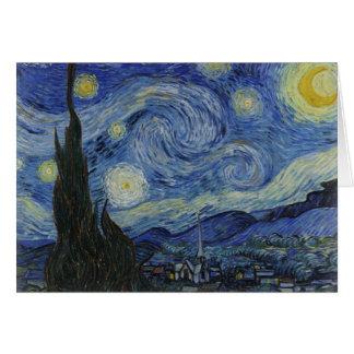 Cartes nuit étoilée de Van Gogh
