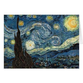 Cartes Nuit étoilée de Vincent van Gogh