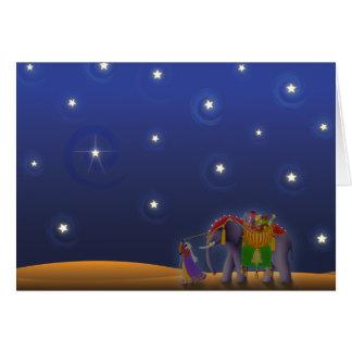 Cartes Nuit étoilée des vacances X001