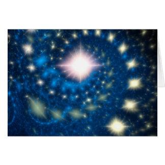 Cartes Nuit étoilée et étoilée