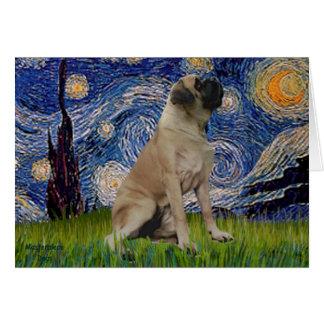 Cartes Nuit étoilée - mastiff de Taureau #1