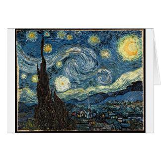 Cartes Nuit étoilée par Vincent van Gogh