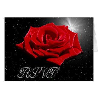 Cartes Nuit romantique étoilée