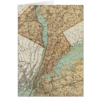 Cartes NY, rois, Queens, Richmond, Rockland
