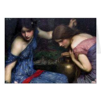 Cartes Nymphes trouvant Orphée