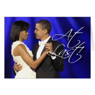 Cartes Obama dansent d'abord - enfin