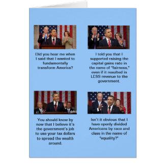 Cartes Obama est-il un socialiste ?  Fait-ils 2 plus 2