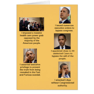 Cartes Obama le dictateur
