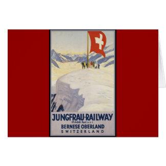 Cartes Oberland de Bernese de Jungfrau-Chemin de fer