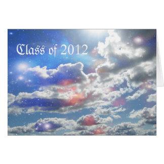Cartes Obtention du diplôme 2012