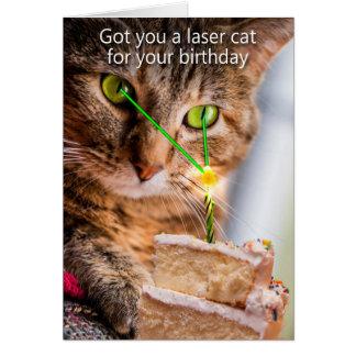 Cartes Obtenu vous un chat de laser pour votre