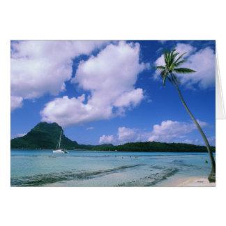 Cartes Océanie, Polynésie française, Tahiti. Vue de
