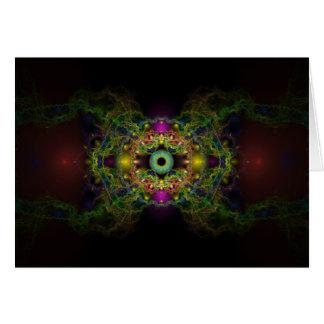 Cartes Oeil de Dieu - vessie Piscis
