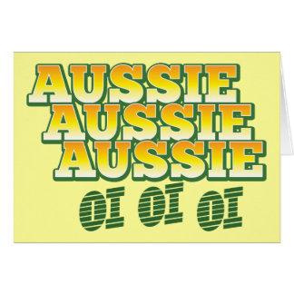 Cartes Oi australien australien australien d'oi d'oi