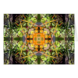 Cartes Oiseau de mandala de paradis